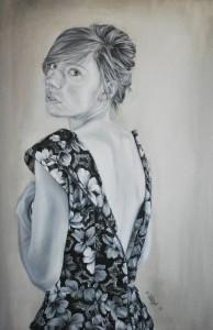 Girl in the Flowered Dress