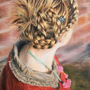 Girl with Plaited Hair